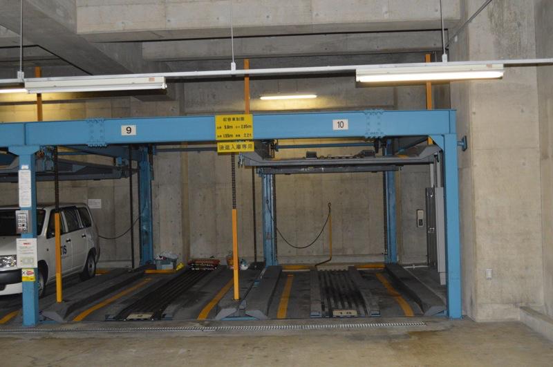 昇降多段駐車場