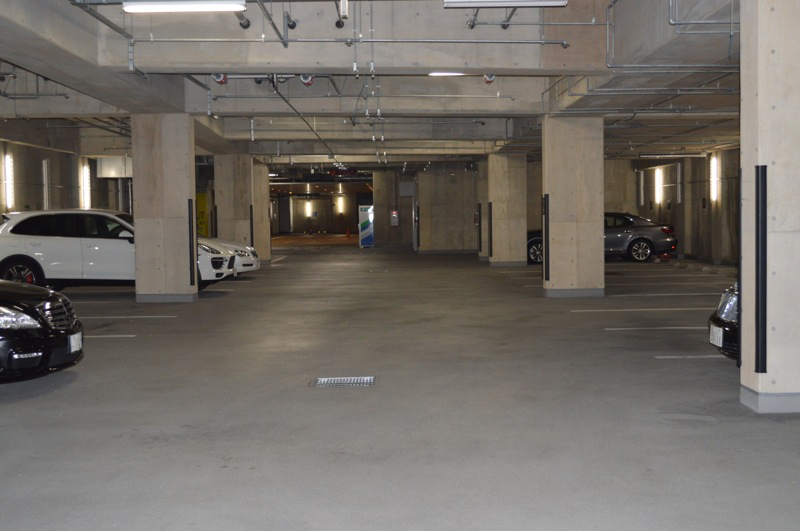 駐車場様子
