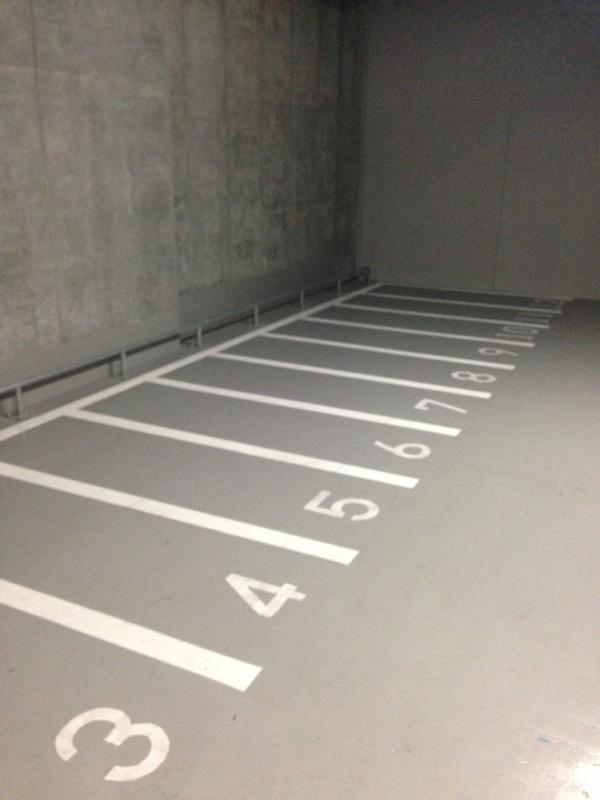 平面バイク専用駐車場
