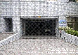 住友水道橋ビル駐車場入り口
