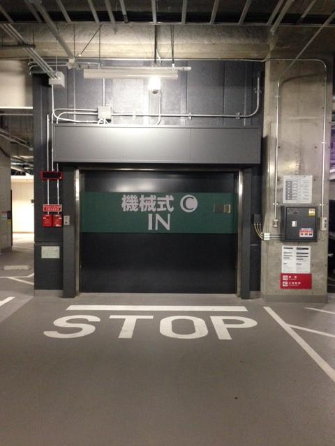 ハイルーフ車可能機械式駐車場