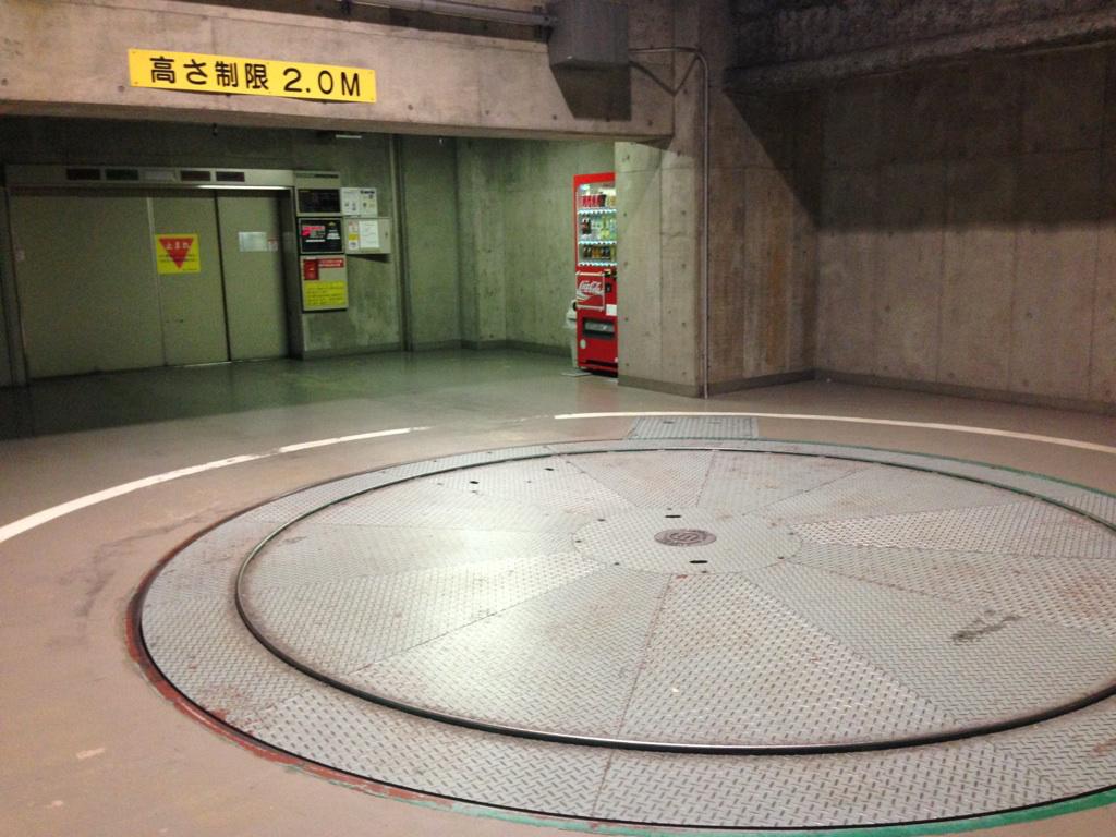 平面式駐車場